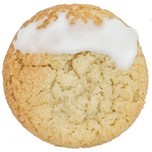 Lemon Moon Cookie to pair with a Sonoma County Craft Beer