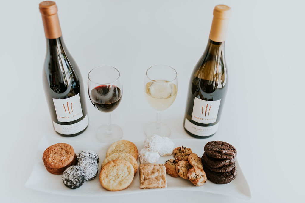 wine and cookie pairing