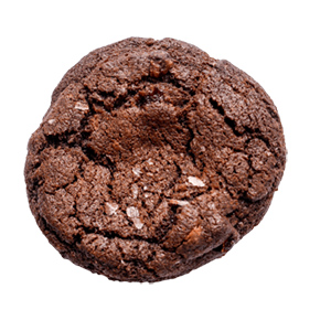 double chocolate cherry cookie