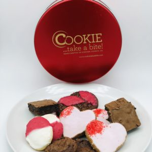 Valentine's Day Premium Cookie Tin