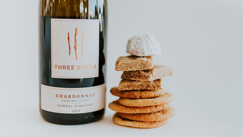 mother's day wine and cookie gifts